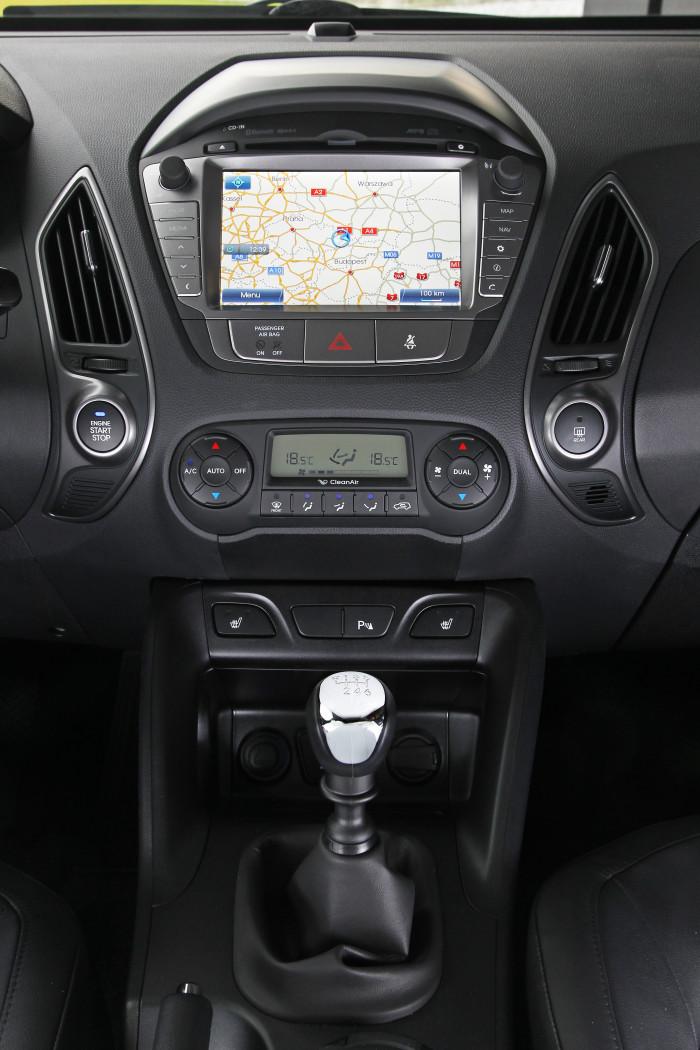 Hyundai ix35 intriør