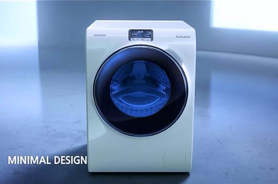 nye samsung vaskemaskin ww9000. Black Bedroom Furniture Sets. Home Design Ideas