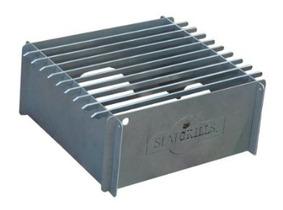 Slat Grill Titanium